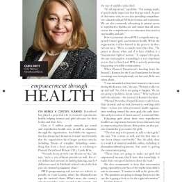 Carole Brite, Planned Parenthood of Illinois CEO