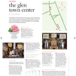 Profile of Glen Town Center shopping