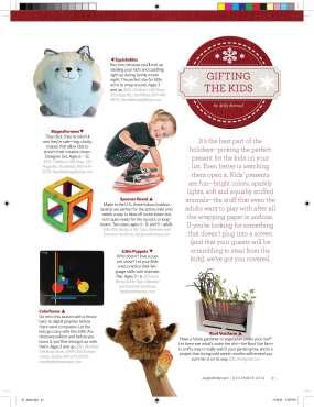 December 2012 Gift Guide/Kids