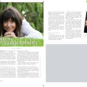 Bloggers Find Power Through Vulnerability