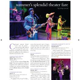 Summer theater outing suggestions